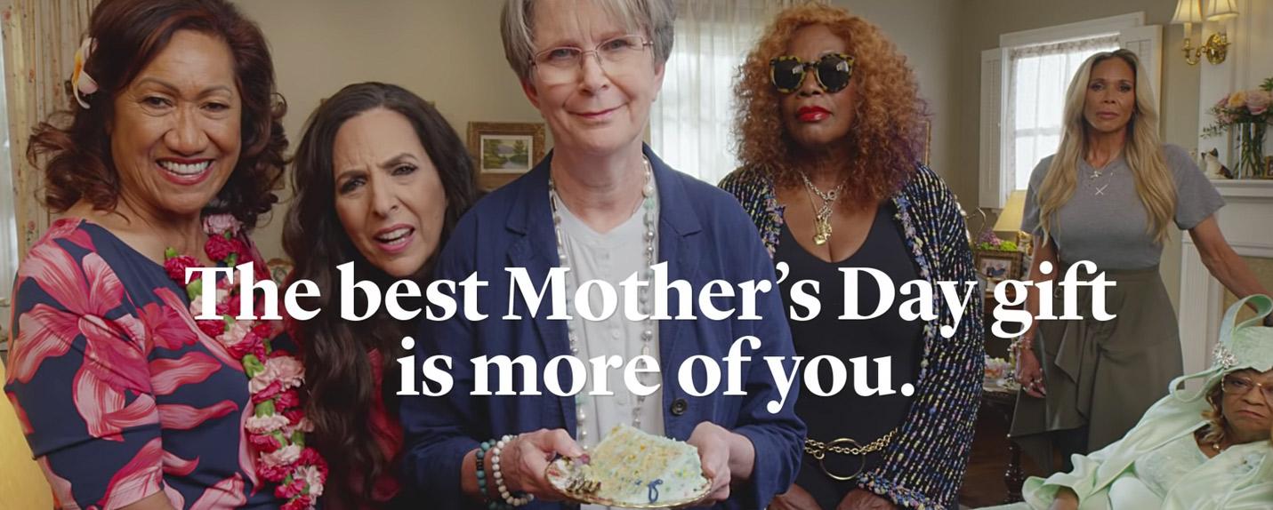 Mães de famosos estrelam campanha do Facebook