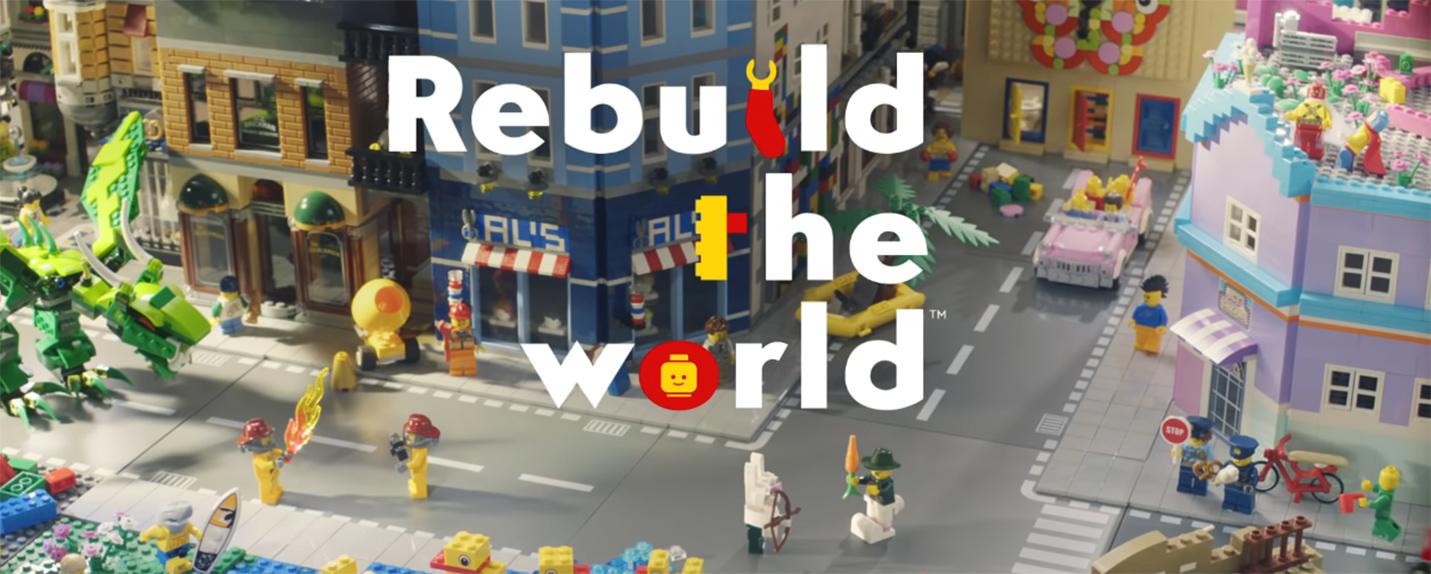 LEGO apresenta primeira campanha de marca em trinta anos