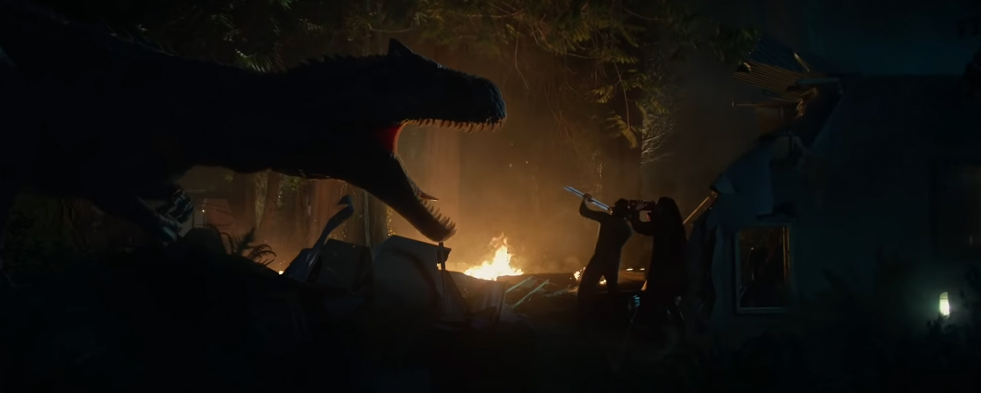 O novo curta de Jurassic World