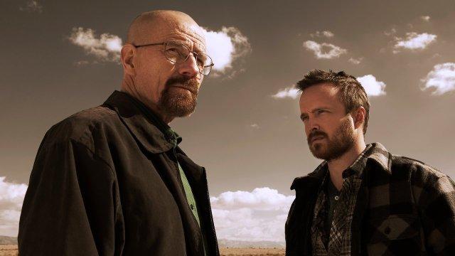 Walter e Jesse de breaking bad