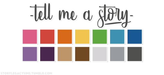 Cores contando histórias