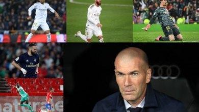 Photo of أفضل 5 لاعبين في ريال مدريد هذا الموسم