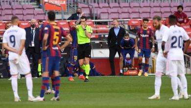 Photo of لاعب ريال مدريد يغادر ملعب الكلاسيكو بعد إصابة قوية في رأسه