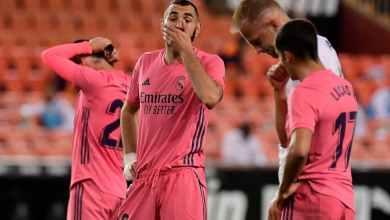 Photo of شكوك حول لحاق نجم ريال مدريد بلقاء الإنتر