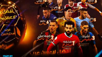 Photo of رسميًا – الإعلان عن أفضل لاعب عربي محترف في أوروبا من 365Scores لعام 2020