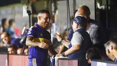 Photo of صور – تيفيز يُخلد ذكرى مارادونا مع بوكا جونيورز
