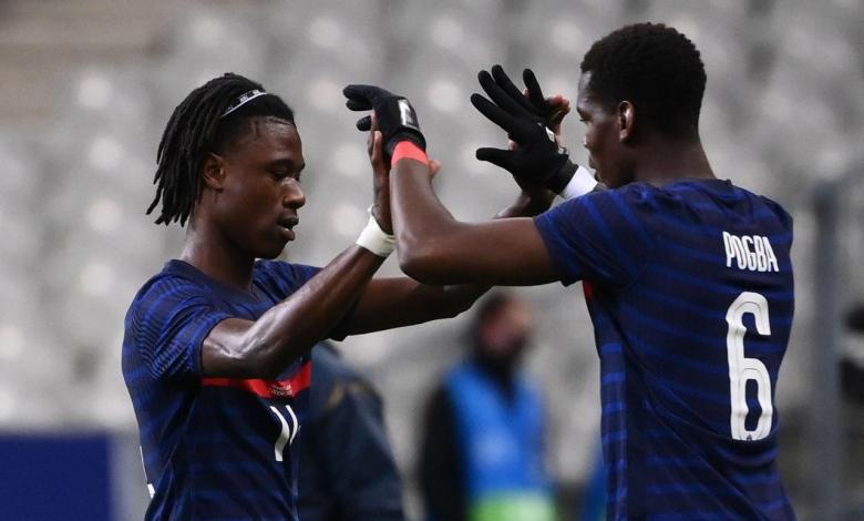كامافينجا - بوجبا - منتخب فرنسا