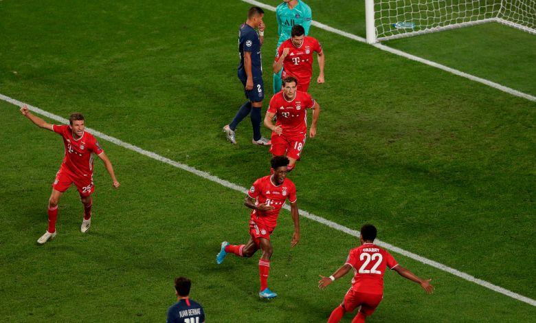 بايرن ميونخ ضد باريس سان جيرمان