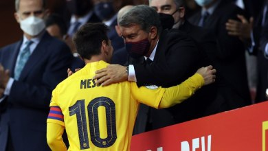 Photo of فيديو.. دليل جديد على اقتراب ميسي من مغادرة برشلونة بعد الفوز بكأس الملك