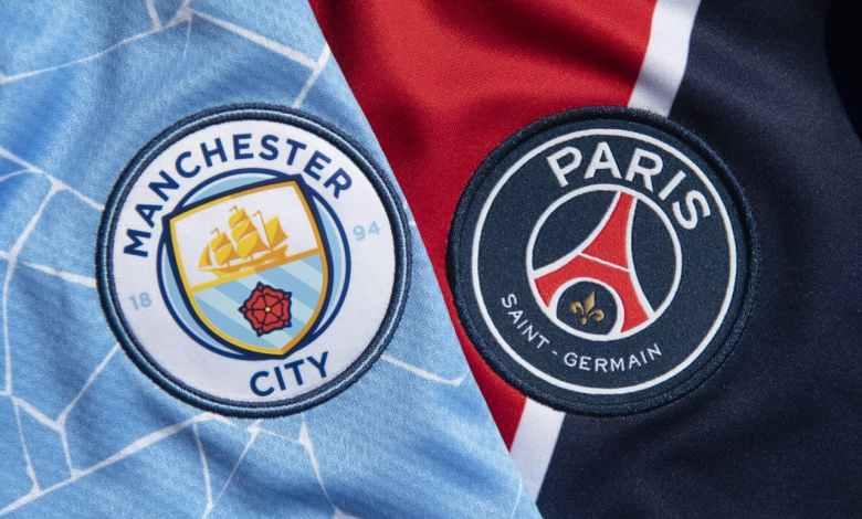باريس سان جيرمان ضد مانشستر سيتي