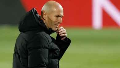 Photo of مؤتمر خيتافي: زيدان يثير الشكوك حول رحيله عن ريال مدريد ويوجه رسالة لبيريز