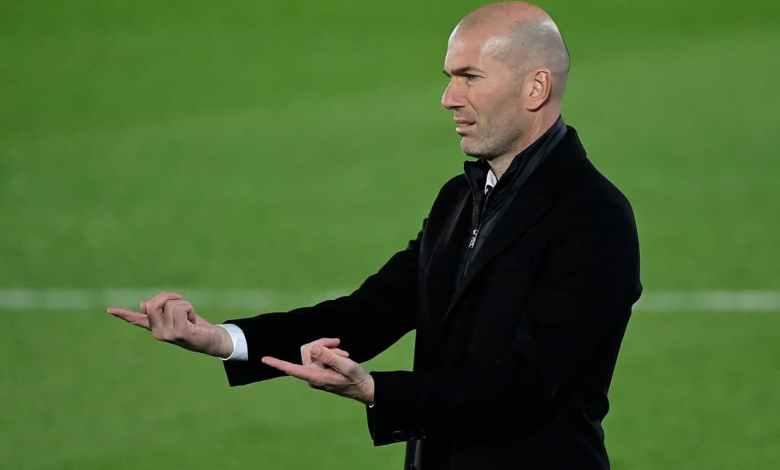 زيدان - ريال مدريد
