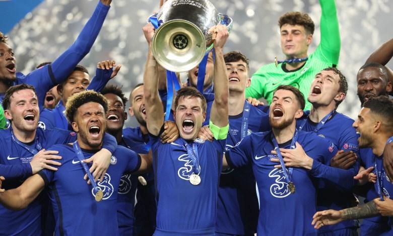 تشيلسي - دوري أبطال أوروبا