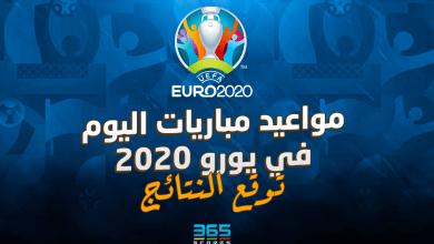 Photo of توقع النتائج ومواعيد مباريات اليوم في يورو 2020