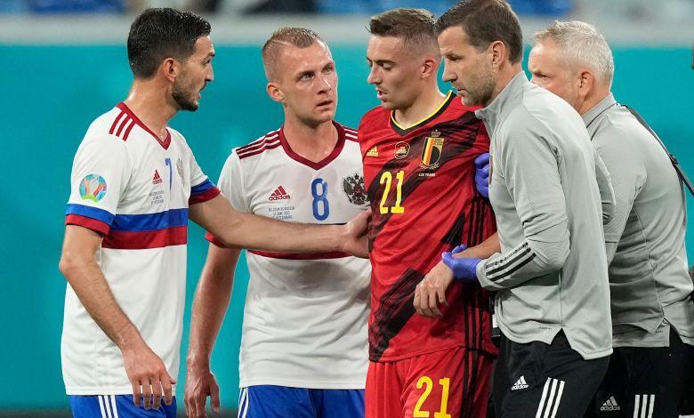 بلجيكا - روسيا