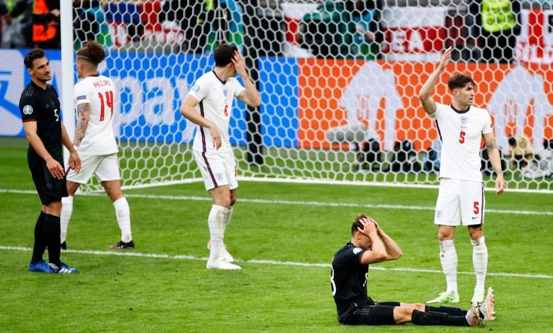 إنجلترا - ألمانيا