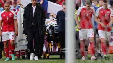 Photo of وكيل إريكسن يكشف موعد مغادرته المستشفى.. ويؤكد: سيدعم الدنمارك أمام بلجيكا