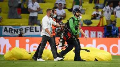 Photo of الشرطة كادت أن تطلق النار على أحد المشجعين في يورو 2020