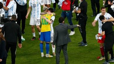 Photo of فيديو رائع لميسي ونيمار على أرض الملعب بعد فوز الأرجنتين بكوبا أمريكا
