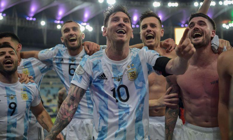 ميسي الأرجنتين كوبا أمريكا