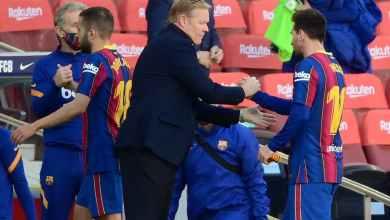Photo of كومان يرد على تصريحات تيباس الصادمة بشأن مستقبل ميسي مع برشلونة