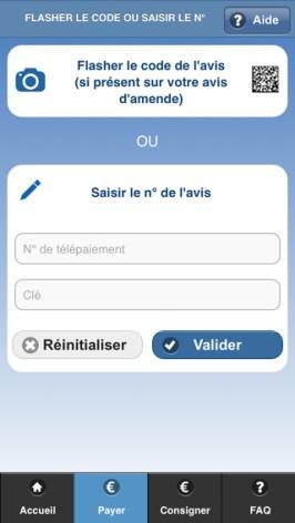 application amendes.gouv 2