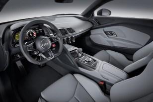 Intérieur sport de la nouvelle Audi R8