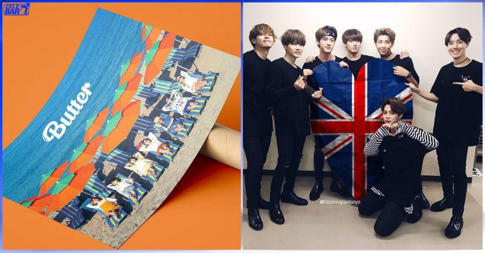 "BPI ရဲ့စံသတ်မှတ်ချက်တွေနဲ့အညီ UK မှာ စံချိန်တင်စာရင်းဝင်ဖြစ်လာတဲ့ BTS's ""Butter"""