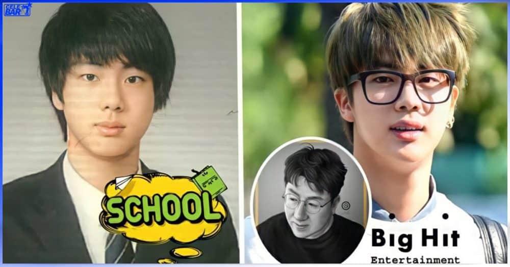 Worldwide Handsome Jin ရဲ့ အနုပညာပန်းခင်းလမ်းအစ (သို့) Big Hit မှာ trainee ဖြစ်လာပုံ