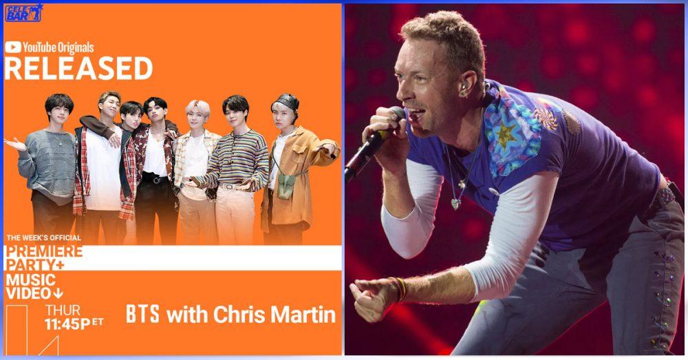 Coldplay က Chris Martin နဲ့အတူ Youtube ရဲ့ အထူးအင်တာဗျူးတစ်ခုမှာ ပါဝင်သွားမယ့် BTS