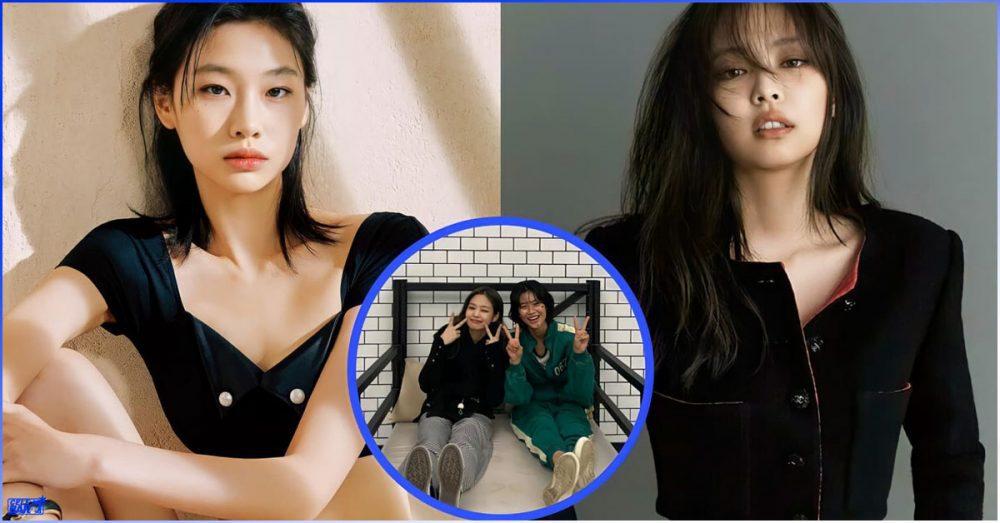 Jennie နဲ့ သူမကြားက friendship ကို ထုတ်ဖော်ပြသလိုက်တဲ့ 'Squid Game' မင်းသမီး Jung Ho Yeon