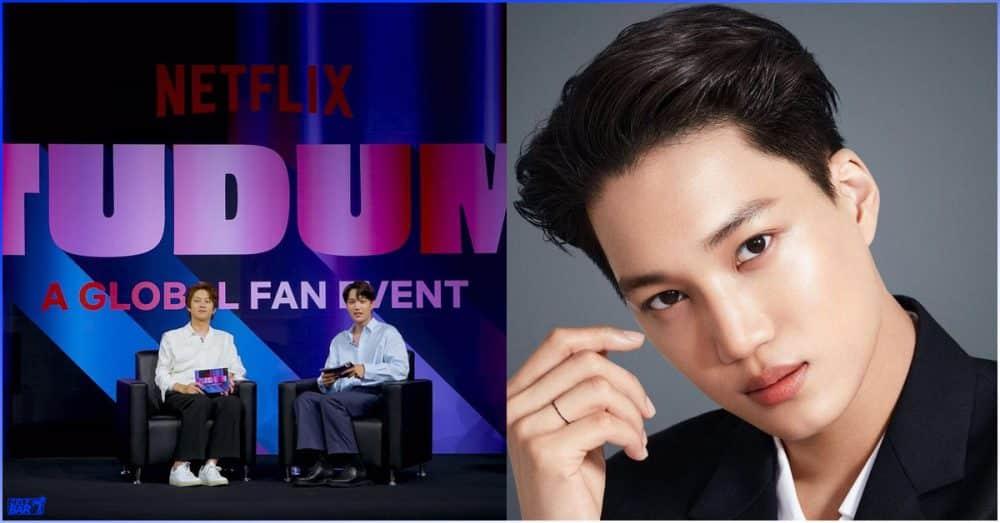 Netflix က စီစဉ်တဲ့ တကမ္ဘာလုံးဆိုင်ရာ Fan Event ပွဲအတွက် MC လုပ်သွားမဲ့ EXO အဖွဲ့ဝင် Kai
