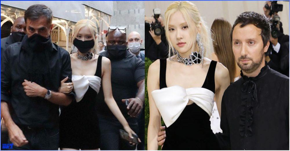 'Met Gala' မှာ ရိုးရှင်းပေါ့ပါးတဲ့ဝတ်စုံလေးနဲ့ပဲ ပွဲတက်ခဲ့တာတောင် ထင်ရှားလှပနေခဲ့သူလေး Rosé