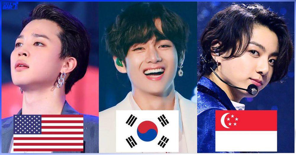 နိုင်ငံပေါင်း (10) နိုင်ငံမှာ ဘယ် 3rd Generation Kpop အဖွဲ့တွေက popular အဖြစ်ဆုံး ဖြစ်နေသလည်းဆိုတော့