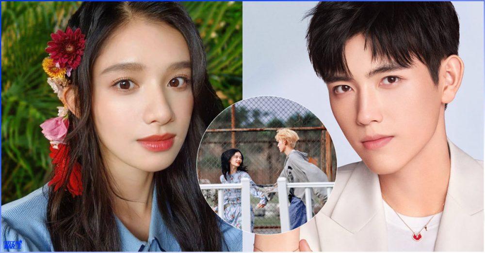 """The Lighter and the Princess' Gown"" ဇာတ်လမ်းသစ်အတွက် ဆံပင်ဆေးဆိုးလိုက်တဲ့ Chen Feiyu"