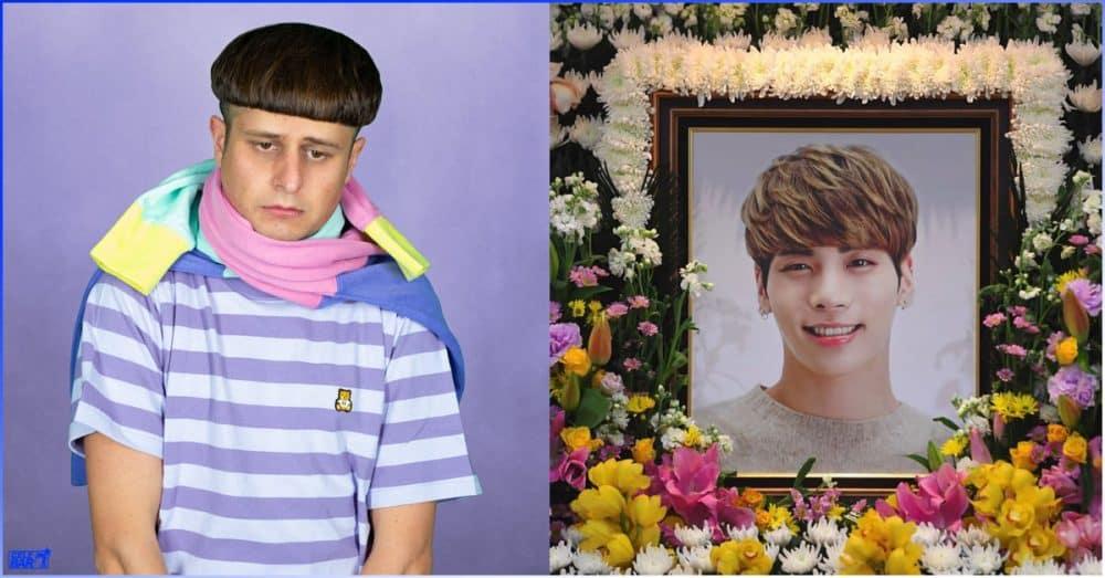 Jonghyun စျာပနပုံကို photoshop လုပ်ပြီး သီချင်း promote လုပ်ဖို့ သုံးခဲ့တဲ့ Oliver Tree ကို K netizen တွေ ဒေါသထွက်နေကြ