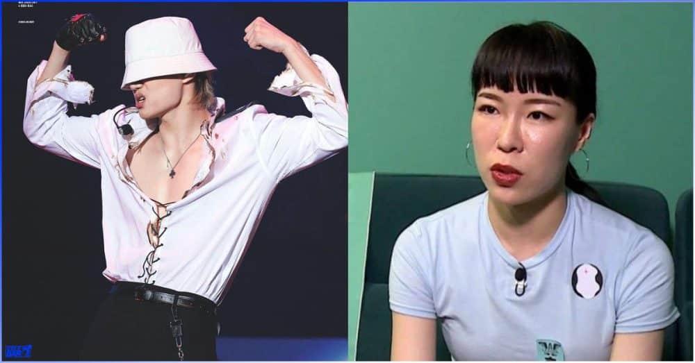 "Street Woman Fighter ပြိုင်ပွဲဝင် ""Want"" အဖွဲ့ခေါင်းဆောင် Hyojin Choi လေးစားရတဲ့အကအတော်ဆုံး idol (3) ယောက်"
