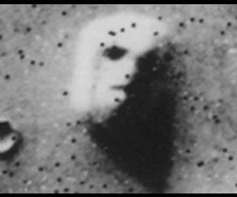 火星の人面岩
