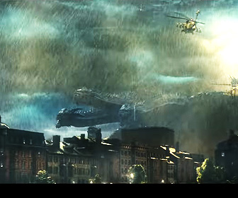 【動画あり】ハリウッド版『ゴジラ』続編予告がすさまじい。ゴジラとキングギドラが激突!