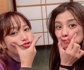 【画像あり】鷲見玲奈 岡副麻希との笑顔2S公開「最高に綺麗」「美人姉妹」と話題に