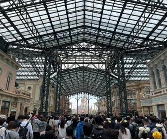 東京ディズニーランド、大混雑
