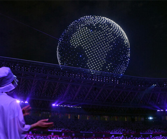 オリンピック ドローン
