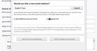 Mozilla Thunderbird Gets Mailfence Integration for Encrypted Email