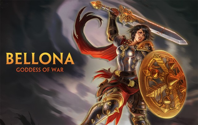 Bellona Goddess Of War Is The Latest Addition To Smite