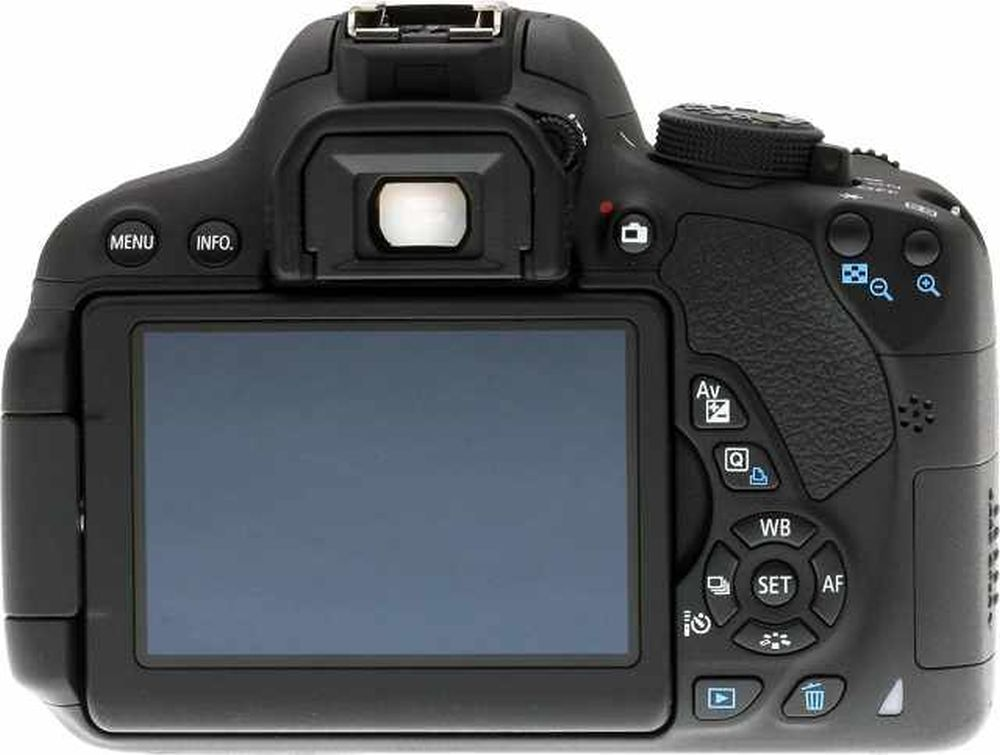 Canon s EOS 700D Rebel T5i Camera Gets Firmware 1 1 4   Update Now Canon EOS Rebel T5i  back view