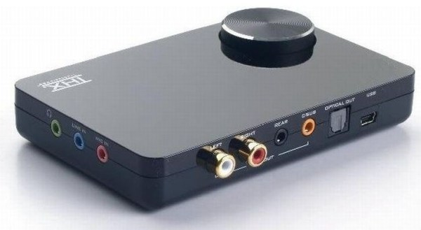 Creative Updates SB X-Fi Surround 5.1 Pro Sound Card ...