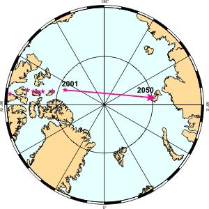 Αποτέλεσμα εικόνας για north pole magnetic