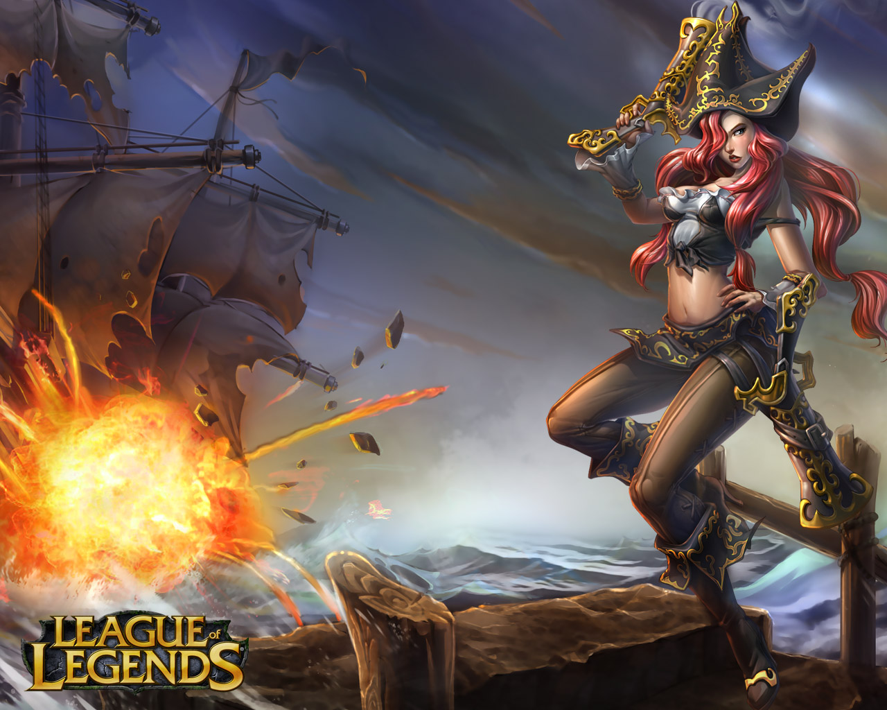 Mac OS X Version of League Of Legends Officially Scrubbed League of Legends artwork   Miss Fortune