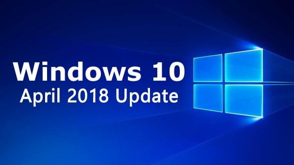 Windows 10 April 2018 Update: Little Things That Matter
