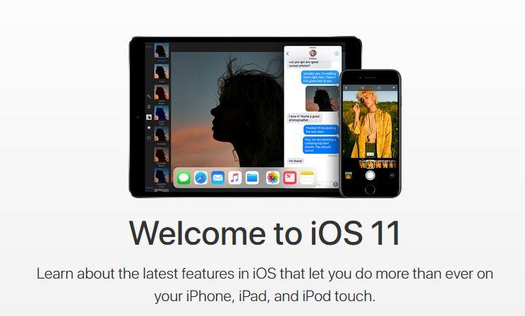 Новая Apple iOS 11.3 доступна скачать